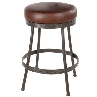 "Stone County Ironworks Cedarvale 30"" Swivel Bar Stool with Cushion"