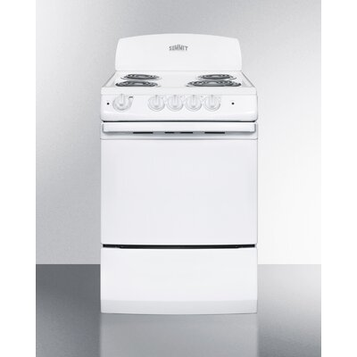 3 Cu. Ft. Electric Range in White Product Photo