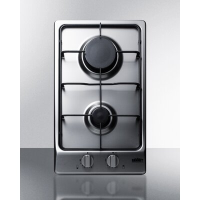"11.5"" Gas Cooktop with 2 Burners Product Photo"