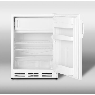 Summit Appliance 5.1 cu. ft. Compact Refrigerator with Freezer