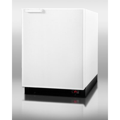 6.1 cu. ft. Compact Refrigerator with Freezer by Summit Appliance