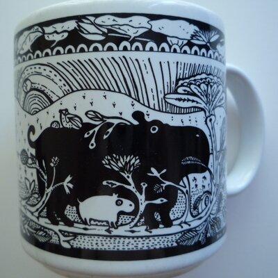 Taylor & Ng Primitives 11 oz. Hippo Mug