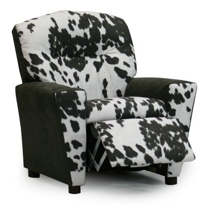 Mixy Kids Recliner and Ottoman by KidzWorld