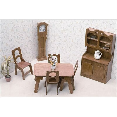 Dining Room Furniture Kit by Greenleaf Dollhouses