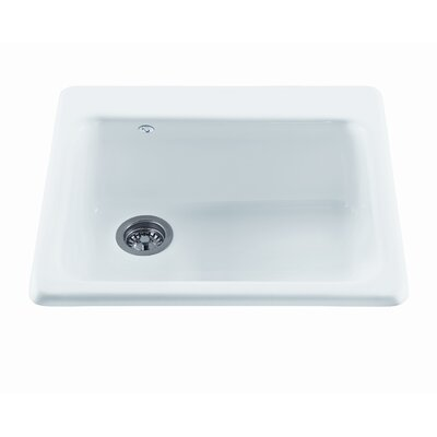 """Reliance 25"""" x 22.25"""" Simplicity Single Bowl Kitchen Sink Product Photo"""
