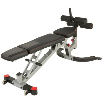 X-Class Light Commercial Utility Weight Bench with Detachable Leg Hold Down by Ironman Fitness