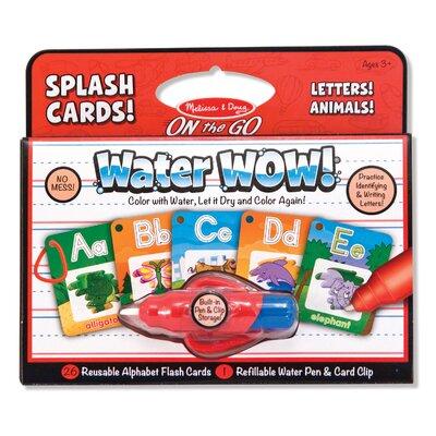 Water Wow! Alphabet Splash Flash Cards by Melissa & Doug