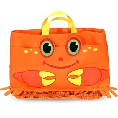 Clicker Crab Beach Tote Bag by Melissa & Doug