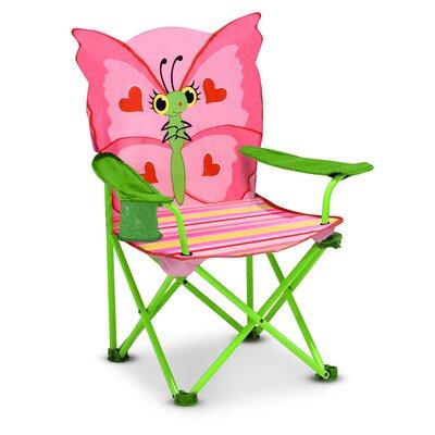 Bella Butterfly Kid's Directors Chair by Melissa & Doug
