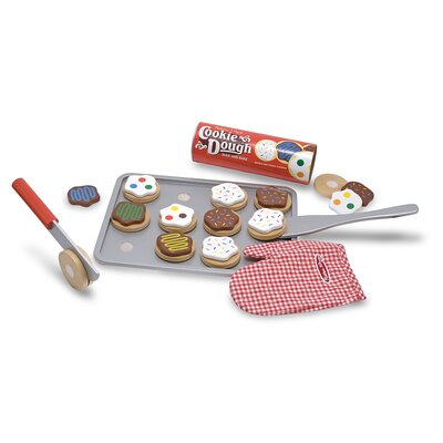 Melissa & Doug 34 Piece Cookie Baking Play Set