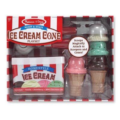Scoop and Stack Ice Cream Cone Set by Melissa & Doug