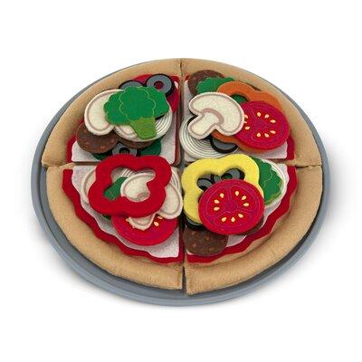 Melissa & Doug 40 Piece Felt Food Pizza Set