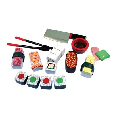 Melissa & Doug 24 Piece Sushi Slicing Box Play Set