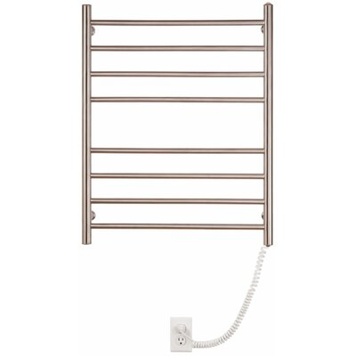 Pearl 8 Bar Wall Mount Electric Towel Warmer by Myson