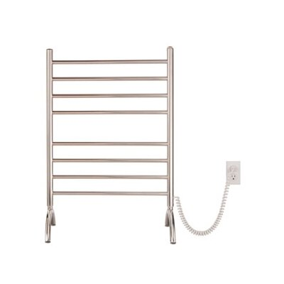 Pearl 8 Bar Portable Floor Mount Electric Towel Warmer by Myson