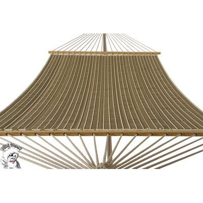 Buyers Choice Phat Tommy Sunbrella Harwood Deluxe Quilted Reversible Hammock and Base Combination