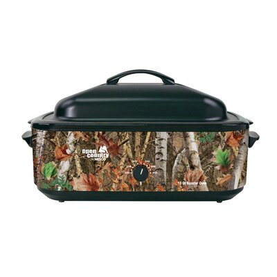 Open Country 18 Qt. Woodland Birch Camouflage Roaster by Nesco