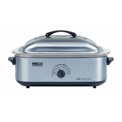 18 Quart Stainless Steel Roaster by Nesco
