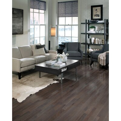 "Somerset Floors Homestyle 3-1/4"" Solid White Oak Hardwood Flooring in Charcoal"