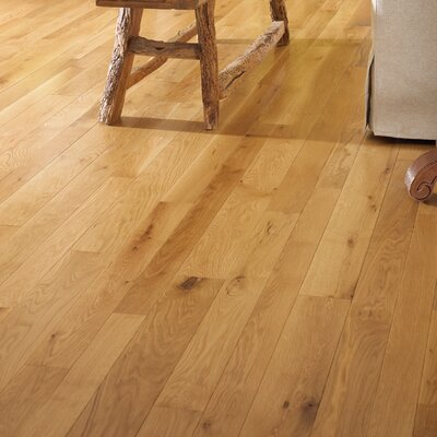 Character 5 Engineered White Oak Hardwood Flooring In