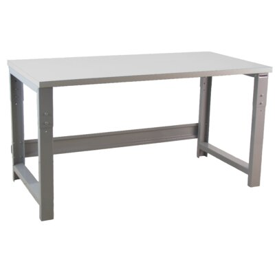 Bench Pro Roosevelt Industrial Height Adjustable Formica Laminate Top Workbench
