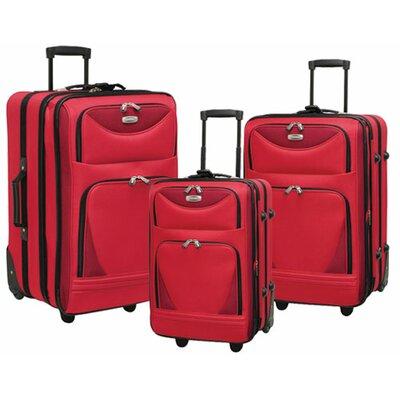 Skyview II 3 Piece Luggage Set by Travelers Club