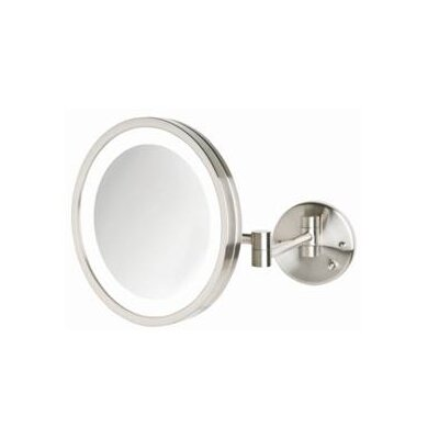 Halo Light Wall Mounted Mirror by Jerdon