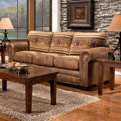 Wild Horses Sofa by American Furniture Classics