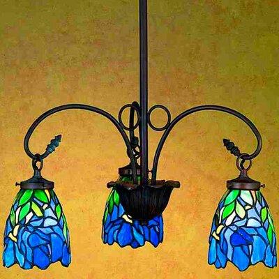 Meyda Tiffany Nouveau Iris 3 Light Chandelier