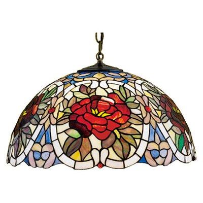Meyda Tiffany Tiffany 3 Light Bowl Pendant