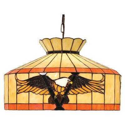 Meyda Tiffany Victory Eagle 1 Light Bowl Pendant