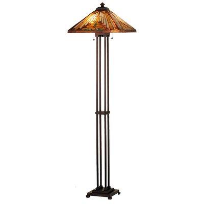 Meyda Tiffany Nuevo Mission Floor Lamp