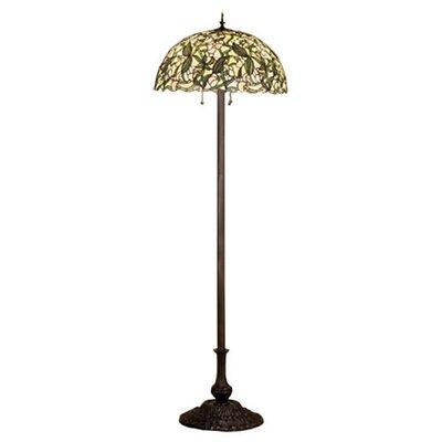 Meyda Tiffany Sweet Pea Floor Lamp