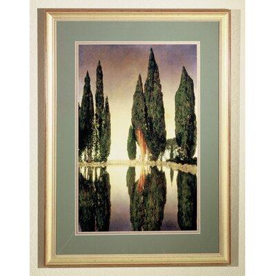 Meyda Tiffany Maxfield Parrish Reservoir Framed Graphic Art