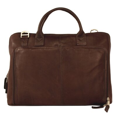 Heritage Soho Leather Laptop Briefcase by Latico Leathers