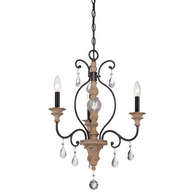 Bella Maison 3 Light Mini Chandelier Product Photo