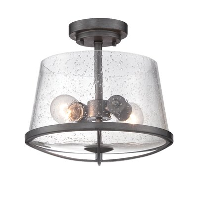 Darby 2 Light Semi Flush Mount Product Photo