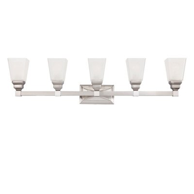 Trenton 5 Light Vanity Light Product Photo