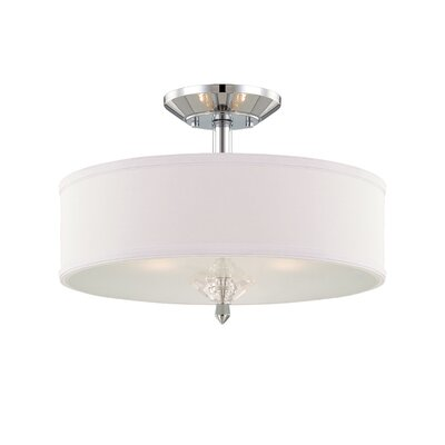Palatial 3 Light Semi-Flush Mount Product Photo