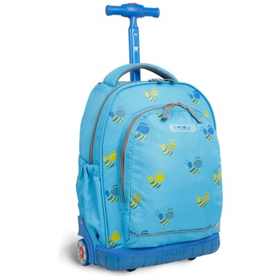 Candy Kid's Rolling Backpack by J World