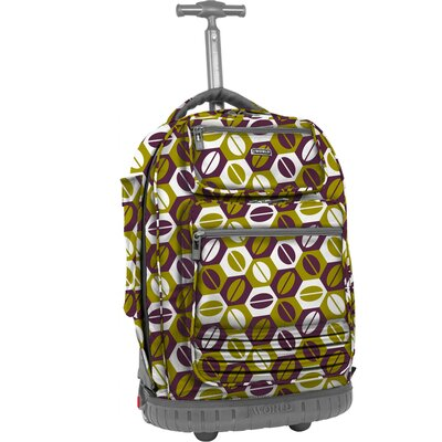 Parkway Laptop Rolling Backpack by J World