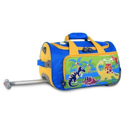 Dino II Kids Rolling Duffel Bag by J World