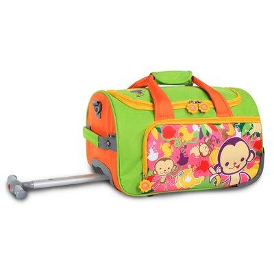 Monkey II Kids Rolling Duffel Bag by J World