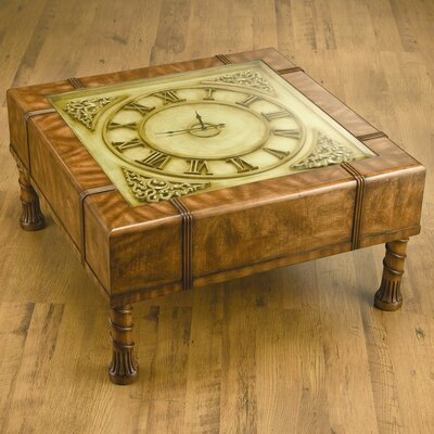 Clock Coffee Table by AA Importing