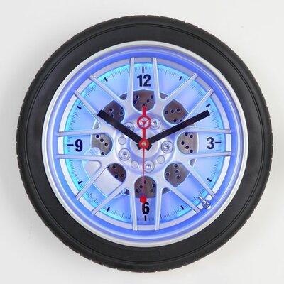 "Maples Clock 18"" Tire Wall Clock"