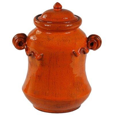 Privilege Lidded Decorative Jar