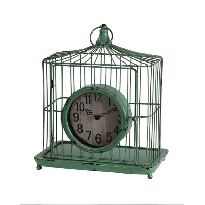 Iron Table Clock by Privilege