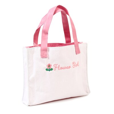 Personalized Flower Girl Tote Bag by Cathys Concepts