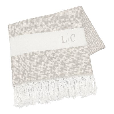 Personalized Turkish Cotton Throw Blanket by Cathys Concepts