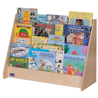 "Steffy Wood Products Four-Shelf 24"" Book Display"
